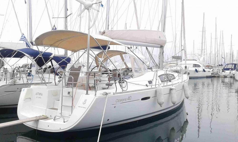 Verhuur Zeilboot in Attica - Bénéteau Oceanis 40