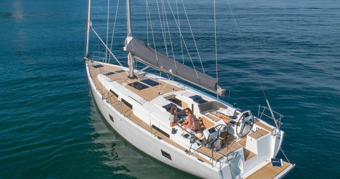 Verhuur Zeilboot in Göcek - Hanse Hanse 458
