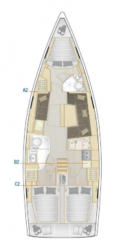 Bootverhuur Kaštela goedkoop Hanse 418