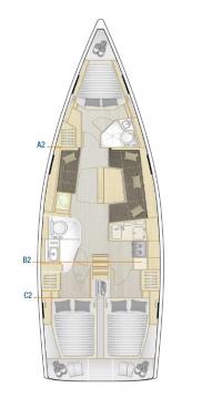 Verhuur Zeilboot in Biograd na Moru - Hanse Hanse 418