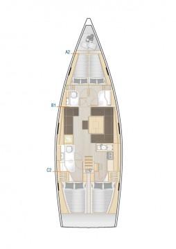 Verhuur Zeilboot in Kaštela - Hanse Hanse 458