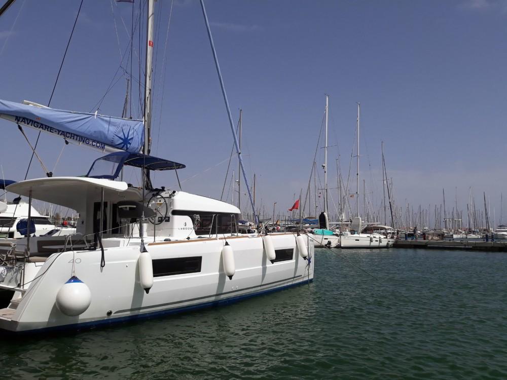 Lagoon Lagoon 40 - 4 + 2 cab  te huur van particulier of professional in Isole Baleari