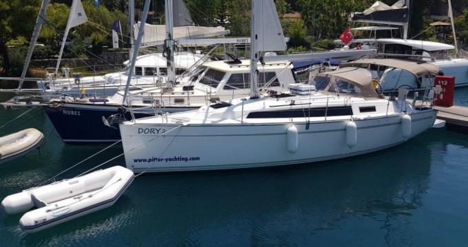 Bootverhuur Bavaria Cruiser 34 in Göcek via SamBoat