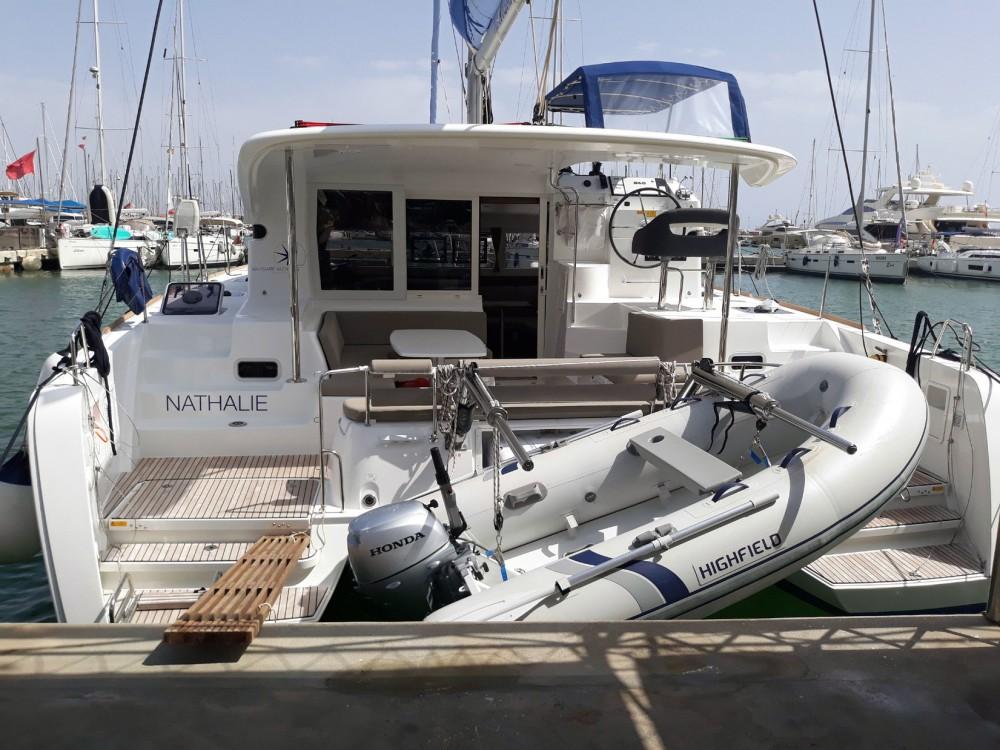 Jachthuur in Balearic Islands - Lagoon Lagoon 40 - 4 + 2 cab  via SamBoat