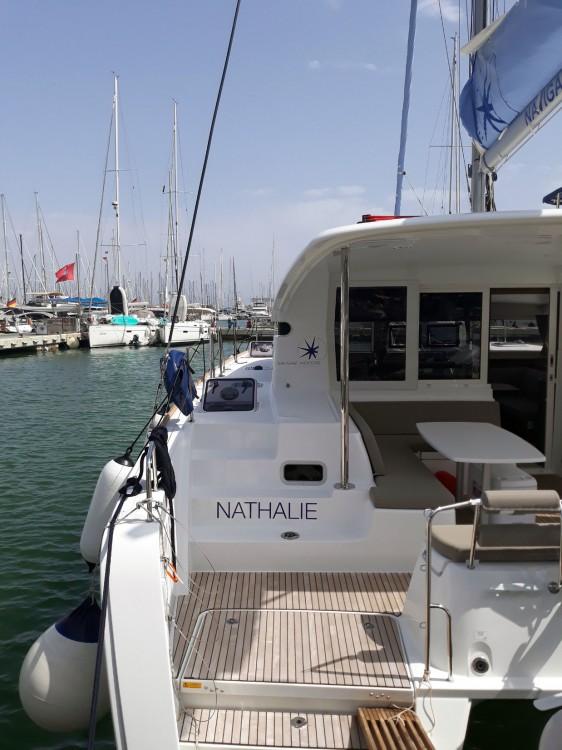 Bootverhuur Lagoon Lagoon 40 - 4 + 2 cab  in Balearic Islands via SamBoat