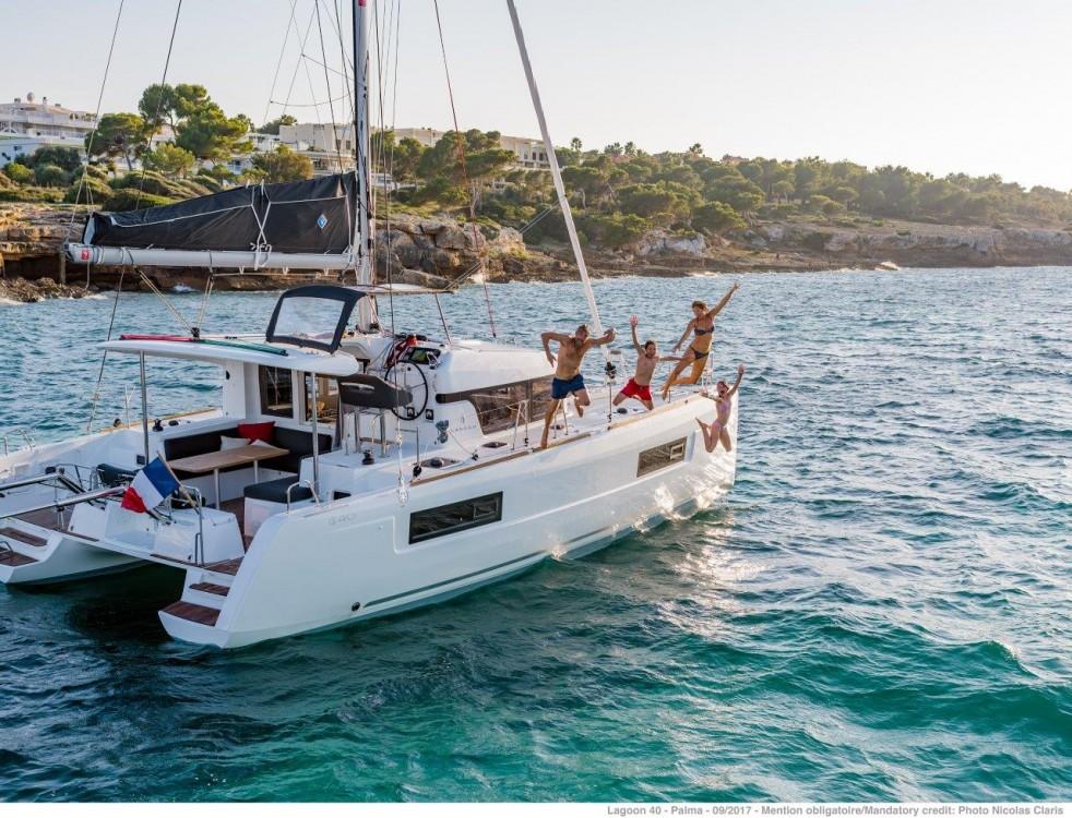 Bootverhuur Tortola goedkoop Lagoon 40 - 4 + 2 cab