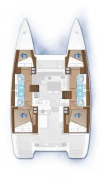 Verhuur Catamaran in Donji Seget - Lagoon Lagoon 40
