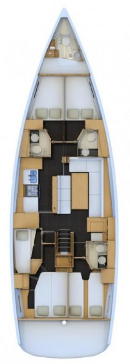 Verhuur Zeilboot in Campania - Jeanneau Jeanneau 54 - 6 cab.