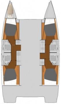 Verhuur Catamaran in Marmaris - Fountaine Pajot Astrea 42