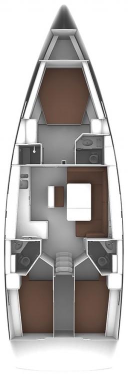 Bootverhuur Procida goedkoop Bavaria Cruiser 46 - 3 cab.