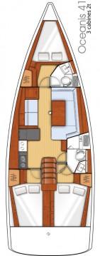 Jachthuur in Álimos - Bénéteau Oceanis 41 via SamBoat