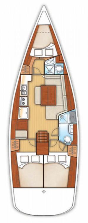 Verhuur Zeilboot in Βόλος - Bénéteau Oceanis 40