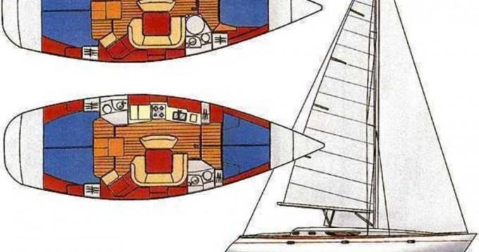 Bootverhuur Jeanneau Sun Odyssey 45.1 in Volos via SamBoat