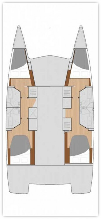 Bootverhuur Fountaine Pajot Fountaine Pajot Lucia 40 in  via SamBoat