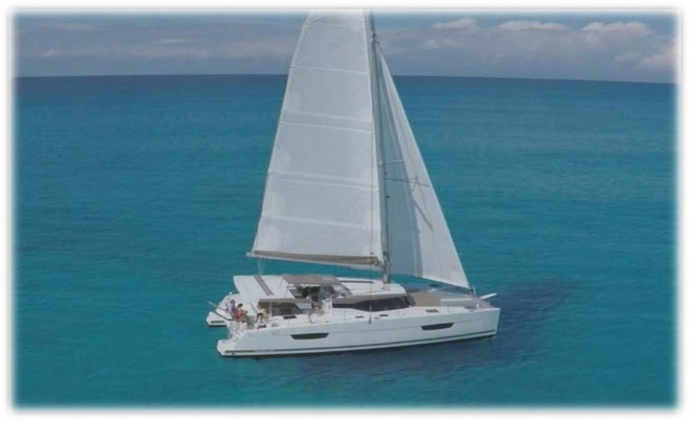 Verhuur Catamaran in  - Fountaine Pajot Fountaine Pajot Lucia 40
