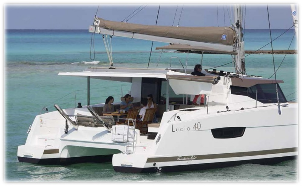 Fountaine Pajot Fountaine Pajot Lucia 40 te huur van particulier of professional in