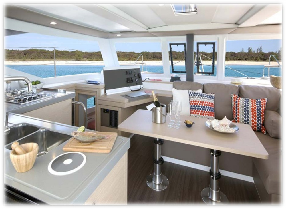 Huur een Fountaine Pajot Fountaine Pajot Lucia 40 in