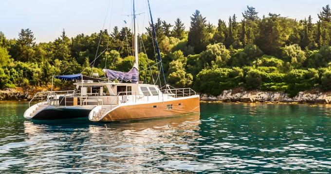 Verhuur Catamaran in Gouviá - Caribe Catamarans ( Nevis / St. Kitts ) Caribe 70 Catamaran