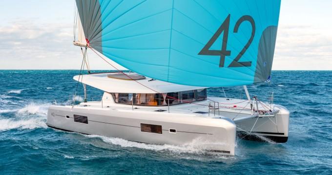 Huur Catamaran met of zonder schipper Lagoon in Skiathos