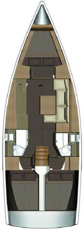 Bootverhuur Fethiye goedkoop Dufour 382 GL