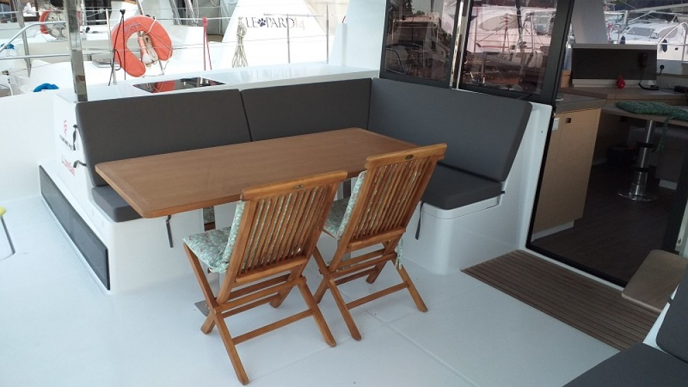 Bootverhuur Fountaine Pajot Fountaine Pajot Lucia 40 in Fethiye via SamBoat