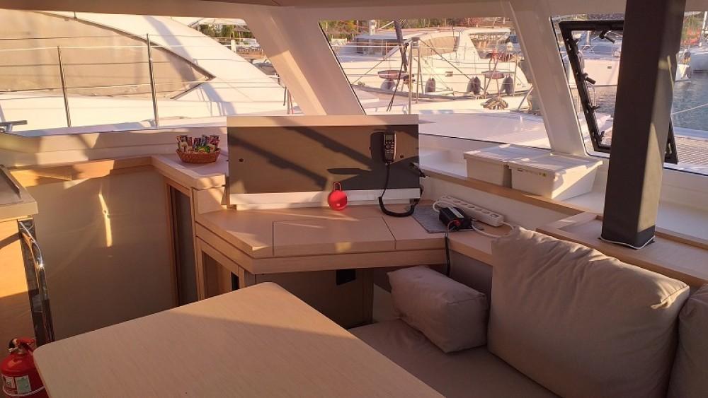 Verhuur Catamaran in Fethiye - Fountaine Pajot Fountaine Pajot Lucia 40
