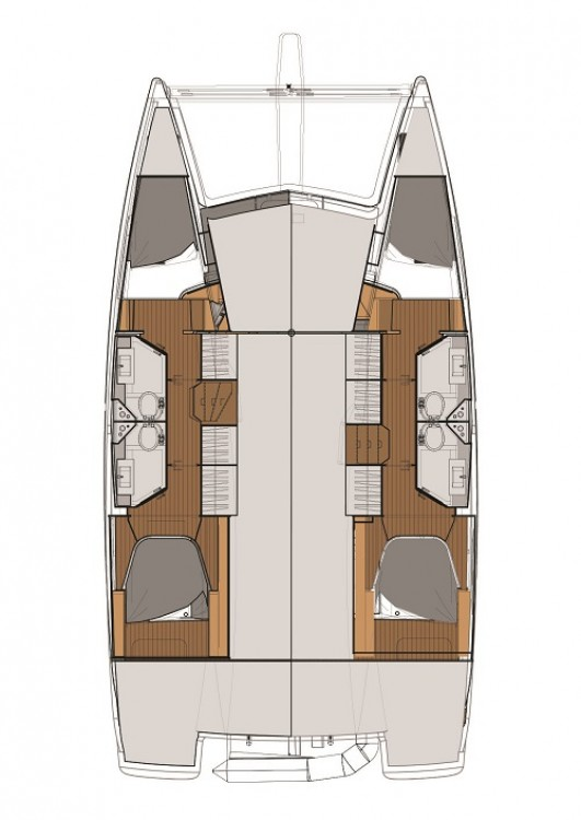 Fountaine Pajot Fountaine Pajot Lucia 40 te huur van particulier of professional in Fethiye