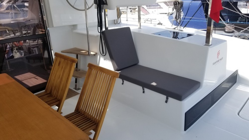 Huur een Fountaine Pajot Fountaine Pajot Lucia 40 in Fethiye