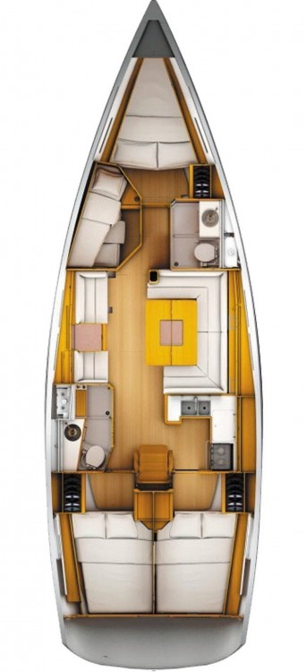 Bootverhuur Jeanneau Sun Odyssey 449 in Leucade via SamBoat