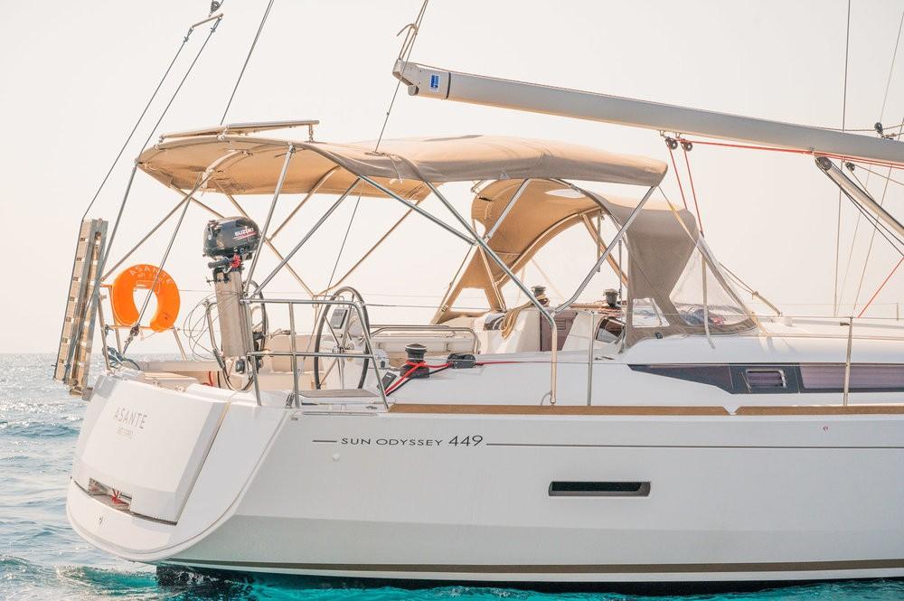 Jachthuur in Leucade - Jeanneau Sun Odyssey 449 via SamBoat