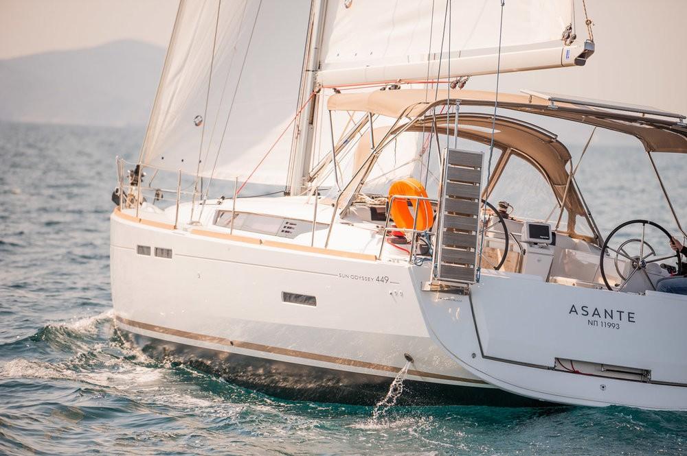 Verhuur Zeilboot in Leucade - Jeanneau Sun Odyssey 449