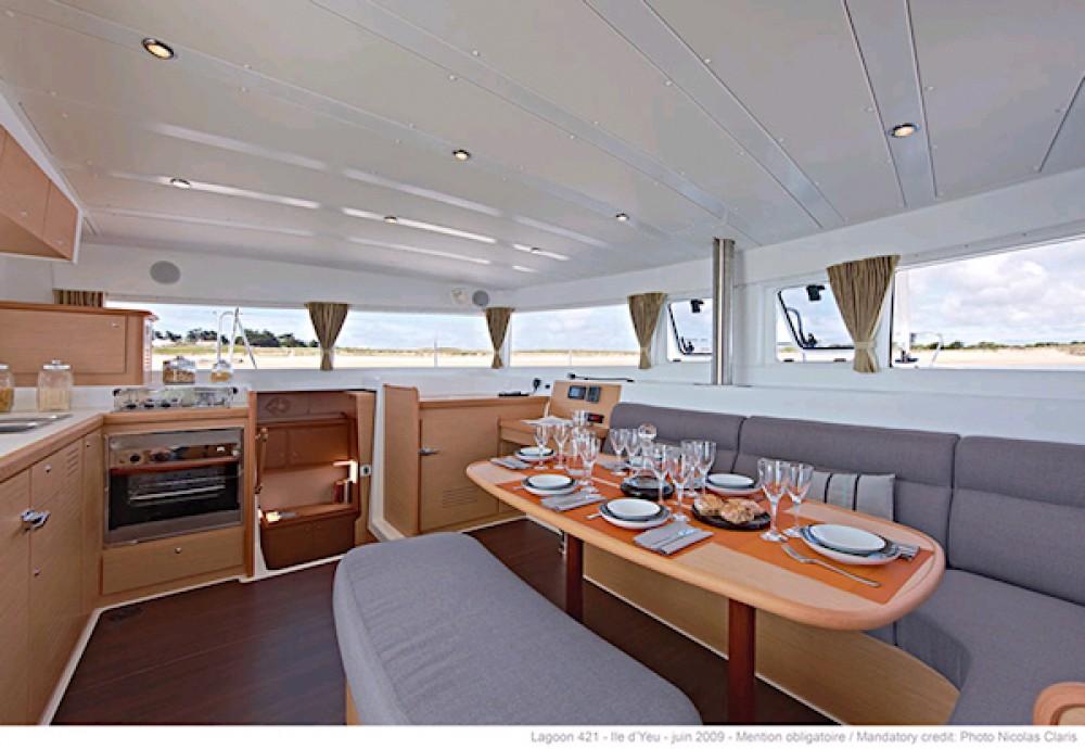 Huur Catamaran met of zonder schipper Lagoon in Páros