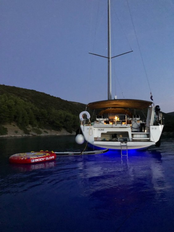 Verhuur Zeilboot in Seget Donji - Dufour Dufour Exclusive 56 - 4 + 1 cab.