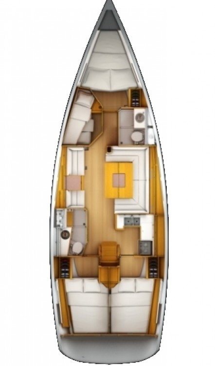 Verhuur Zeilboot in Korfoe - Jeanneau Sun Odyssey 439