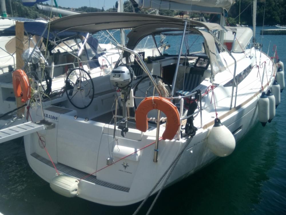 Jachthuur in Korfoe - Jeanneau Sun Odyssey 439 via SamBoat