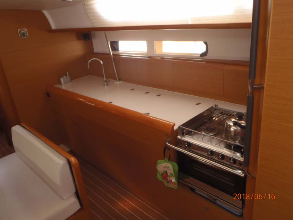 Bootverhuur Βόλος goedkoop Sun Odyssey 479 - 4 cab.