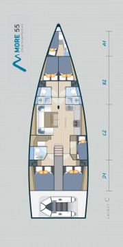 More Boats More 55 te huur van particulier of professional in Donji Seget