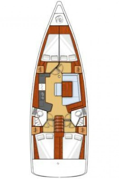 Bénéteau Oceanis 45 - 4 cab. te huur van particulier of professional in Attica