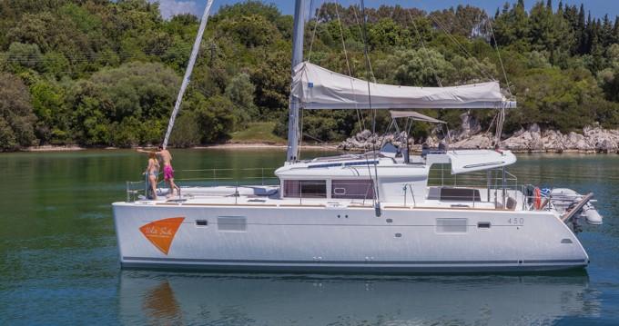 Verhuur Catamaran in Ionian Islands - Lagoon Lagoon 450 F