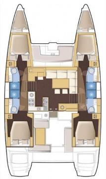Bootverhuur Lefkada (Island) goedkoop Lagoon 450 F