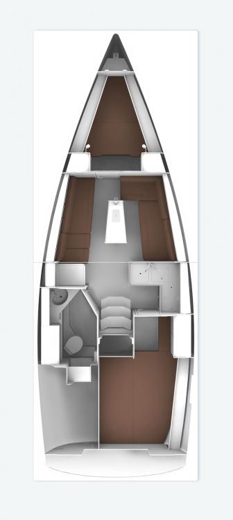 Huur Zeilboot met of zonder schipper Bavaria in Muğla