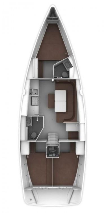 Verhuur Zeilboot in Muğla - Bavaria Bavaria Cruiser 41 - 3 cab.