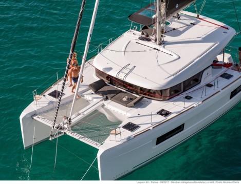 Huur Catamaran met of zonder schipper Lagoon in Portocolom