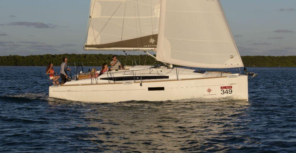 Huur een Jeanneau Sun Odyssey 349 in Portocolom