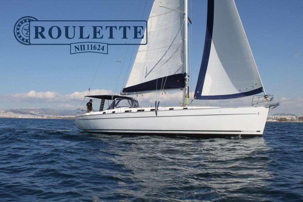 Verhuur Zeilboot in Peloponnese - Bénéteau Cyclades 50.5 - 5 + 1 cab.
