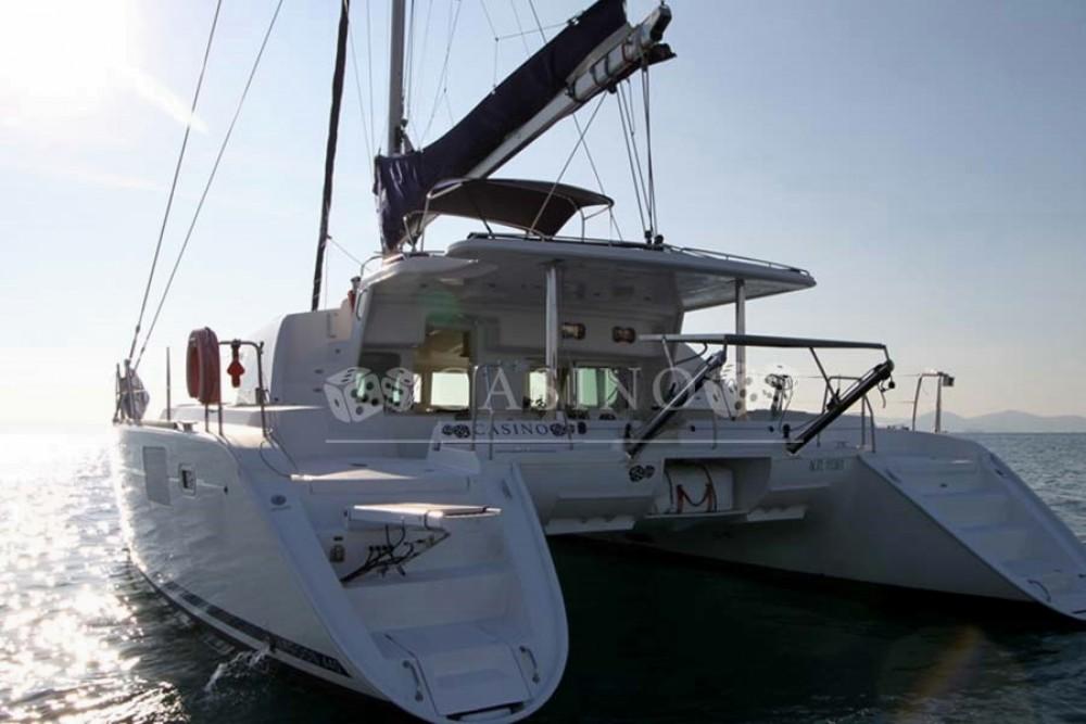 Bootverhuur Peloponnese goedkoop Lagoon 440 - 5 cab.