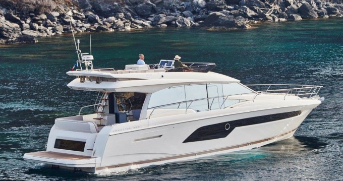 Verhuur Motorboot in Podstrana - Jeanneau Prestige 520 Flybridge