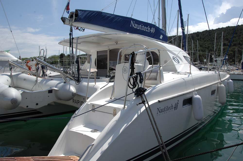 Bootverhuur Nautitech Rochefort Nautitech 40 in  via SamBoat