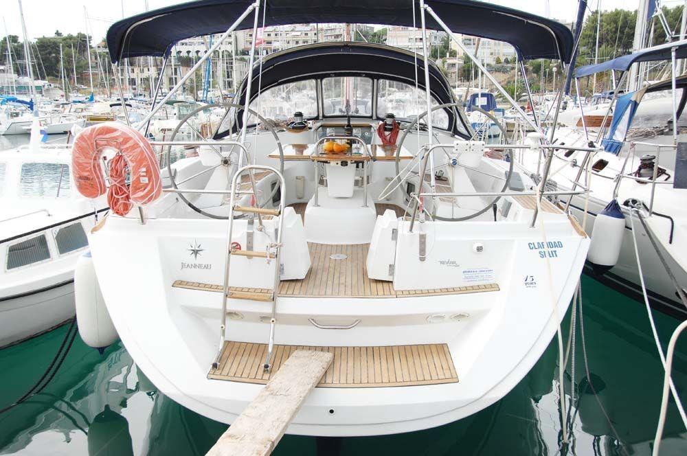 Huur een Jeanneau Sun Odyssey 45 in Split