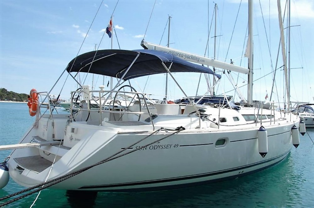 Bootverhuur Jeanneau Sun Odyssey 49 in  via SamBoat